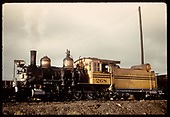 3/4 view of D&amp;RGW #268.<br /> D&amp;RGW  Gunnison ?, CO
