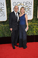 Jeffrey Tambour &amp; wife at the 74th Golden Globe Awards  at The Beverly Hilton Hotel, Los Angeles USA 8th January  2017<br /> Picture: Paul Smith/Featureflash/SilverHub 0208 004 5359 sales@silverhubmedia.com