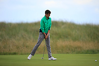 Tom McKibbin of Ireland during Day 2 / Singles of the Boys' Home Internationals played at Royal Dornoch Golf Club, Dornoch, Sutherland, Scotland. 08/08/2018<br /> Picture: Golffile | Phil Inglis<br /> <br /> All photo usage must carry mandatory copyright credit (&copy; Golffile | Phil Inglis)