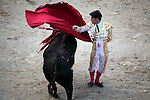 Bullfighting in Las Ventas Bullring. Madrid. Spain