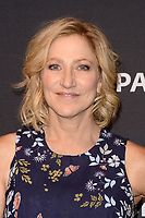 "LOS ANGELES - SEP 10:  Edie Falco at the ""The Menendez Murders"" at the 11th PaleyFest Fall TV Previews at the Paley Center for Media on September 10, 2017 in Beverly Hills, CA"