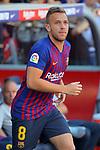 53e Trofeu Joan Gamper.<br /> Presentation 1st team FC Barcelona.<br /> Arthur.
