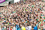 Supporters watch Kerry v Mayo in the All Ireland Semi Final Replay in Croke Park on Saturday.