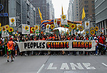 NEWS- Hundreds Of Thousands Turn Out For People's Climate March In New York City