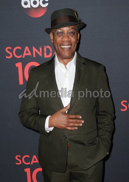 08 April 2017 - West Hollywood, California - Joe Morton. ABC's 'Scandal' 100th Episode Celebration held at Fig & Olive in West Hollywood. Photo Credit: Birdie Thompson/AdMedia