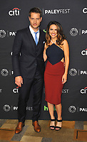 www.acepixs.com<br /> <br /> March 18 2017, LA<br /> <br /> Actor Justin Hartley (L) and actress Chrishell Stause arriving at The Paley Center For Media's 34th Annual PaleyFest Los Angeles - 'This Is Us' screening and panel discussion at the Dolby Theatre on March 18, 2017 in Hollywood, California.<br /> <br /> By Line: Peter West/ACE Pictures<br /> <br /> <br /> ACE Pictures Inc<br /> Tel: 6467670430<br /> Email: info@acepixs.com<br /> www.acepixs.com