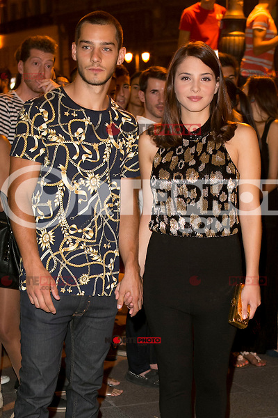 Joel Bosqued and Andrea Duroattends the party of Nike and Roberto Tisci at the Casino in Madrid, Spain. September 15, 2014. (ALTERPHOTOS/Carlos Dafonte) /NortePhoto.com