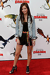 SAMANTHA DROKE. Arrivals to the Los Angeles premiere of Dreamworks' How To Train Your Dragon at the Gibson Amphitheater. Universal City, CA, USA. March 21, 2010.