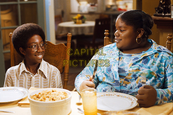 AUSTIN REID & LINDSEY SIMS-LEWIS.in Norbit .**Editorial Use Only**.CAP/FB.Supplied by Capital Pictures