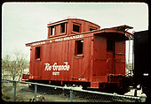 D&amp;RGW caboose #0577 (on display)<br /> D&amp;RGW