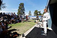 MELBORUNE, AUSTRALIA, 13.03.2014 - F1 - GP DA AUSTRALIA - PREPARATIVOS -  <br /> Nico Rosberg (GER, Mercedes AMG Petronas F1 Team) e visto dois dias antes do GP da Austr&aacute;lia de F&oacute;rmula 1, no circuito Albert Park, em Melbourne, Austr&aacute;lia, nesta quinta-feira, 13. (Foto: Pixathlon / Brazil Photo Press).