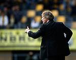 Nederland, Kerkrade, 2 november 2008 .Eredivisie .Seizoen 2008-2009 .Roda JC-Feyenoord (4-0) .Gertjan Verbeek, trainer-coach van Feyenoord, steekt zijn duim omhoog.