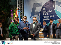 The Trofeo Princesa Sofia Iberostar celebrates this year its 50th anniversary in the elite of Olympic sailing in a record edition, to be held in Majorcan waters from 29th March to 6th April, organised by Club N&agrave;utic S&rsquo;Arenal, Club Mar&iacute;timo San Antonio de la Playa, Real Club N&aacute;utico de Palma and the Balearic and Spanish federations. <br /> <br /> &copy;Pedro Martinez/SAILING ENERGY/50th Trofeo Princesa Sofia Iberostar <br /> 06 April, 2019.