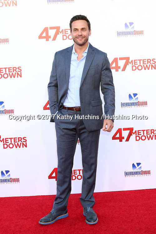 "LOS ANGELES - JUN 12:  Chris J Johnson at the ""47 Meters Down"" Premiere at the Village Theater on June 12, 2017 in Westwood, CA"