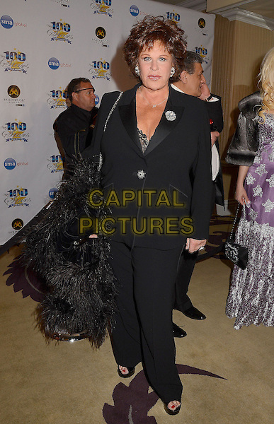 Lainie Kazan.23nd Annual Night of 100 Stars Awards Gala hosted by Norby Walters celebrating the 85th Annual Academy Awards held at the Beverly Hills Hotel, Beverly Hills, California, USA..February 24th, 2013.full length black suit  .CAP/ADM/BT.©Birdie Thompson/AdMedia/Capital Pictures.