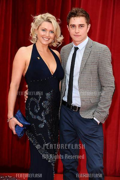 Joanne Farrell and Nicolas Woodman arrive at the British Soap awards 2011 held at the Granada Studios, Manchester..14/05/2011  Picture by Steve Vas/Featureflash