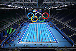 General view, <br /> AUGUST 12, 2016 - Swimming : <br /> at Olympic Aquatics Stadium <br /> during the Rio 2016 Olympic Games in Rio de Janeiro, Brazil. <br /> (Photo by Yohei Osada/AFLO SPORT)