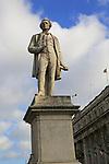 Sir John Grey statue, O'Connell Street, Dublin city centre, Ireland, Republic of Ireland