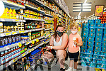 Aisling McLoughlin and Mia Doyle, Tralee shopping in Garvey's Supervalu Tralee