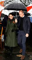 06 March 2019 - Lancashire, UK - Prince William Duke Of Cambridge and Kate Duchess of Cambridge Katherine Catherine Middleton during a visit to Revoe Park in Blackpool. Photo Credit: ALPR/AdMedia