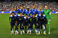 Team USA poses for team photo prior to match against Peru during a Friendly Match at the RFK Stadium in Washington, D.C. on Friday, September 4, 2015.  Alan P. Santos/DC Sports Box