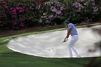 Rafa Cabrera Bello (ESP) on the 13th green during the 1st round at the The Masters , Augusta National, Augusta, Georgia, USA. 11/04/2019.<br /> Picture Fran Caffrey / Golffile.ie<br /> <br /> All photo usage must carry mandatory copyright credit (&copy; Golffile | Fran Caffrey)