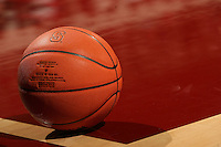 25 February 2007: A basketball during Stanford's 56-53 win over USC at Maples Pavilion in Stanford, CA.