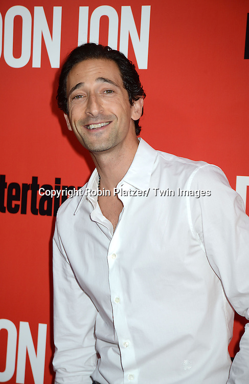 """Adrien Brody attends the """"Don Jon"""" New York Movie Premiere on September 12, 2013 at the SVA Theatre in New York City."""
