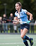 AMSTELVEEN - Marente Barentsen (Hurley). Hoofdklasse competitie dames, Hurley-HDM (2-0) . FOTO KOEN SUYK
