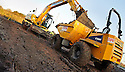 22nd November 2011 - The work on the access road from Etna Roundabout gets underway.