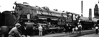 1930s train at Pueblo