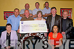Members of Abbeyfeale Race committee who made a presentation of a cheque for 2,500.00 Catherine and Tom Moloney, Colm Horgan, Helen Enright , P J Enright Alan Quinn and Christie Fitzgerald. (Grow). John Riordan, Toddy McMahon and Vincent O' Connor..   Copyright Kerry's Eye 2008