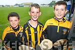 At the Tom Healy Memorial Park Family Fun Day Abbeydorney on Sunday were Eoin Magan, Luke Fitzmaurice and Cian Magan