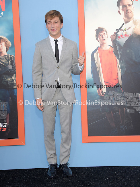 Skyler Gisondo<br />  attends The Warner Bros. Pictures' L.A. Premiere of Vacation held at The Regency Village Theatre  in Westwood, California on July 27,2015                                                                               © 2015 Hollywood Press Agency