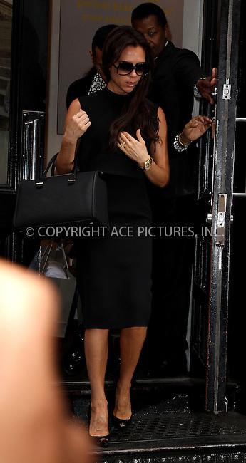 WWW.ACEPIXS.COM<br /> <br /> September 12 2013, New York City<br /> <br /> Victoria Beckham visited J Crew in Soho on September 12 2013 in New York City<br /> <br /> By Line: Zelig Shaul/ACE Pictures<br /> <br /> <br /> ACE Pictures, Inc.<br /> tel: 646 769 0430<br /> Email: info@acepixs.com<br /> www.acepixs.com