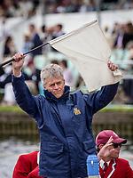 Henley Royal Regatta, Henley on Thames, Oxfordshire, 28 June - 2 July 2017.  Wednesday  15:14:47   28/06/2017  [Mandatory Credit/Intersport Images]<br /> <br /> Rowing, Henley Reach, Henley Royal Regatta.<br /> R C Stanhope, Esq. Umpire