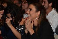 RIO DE JANEIRO, RJ, 23 JULHO 2012 - PREMIO CONTIGO DE MPB - Emanuelle Araujo e Ivete Sangalo na cerimonia de entrega do primeiro Premio Contigo de Musica Popular Brasileira, no espaco Miranda, zona sul do rio.(FOTO: MARCELO FONSECA / BRAZIL PHOTO PRESS).