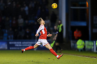Conor McAleny of Fleetwood Town during the Sky Bet League 1 match between Gillingham and Fleetwood Town at the MEMS Priestfield Stadium, Gillingham, England on 27 January 2018. Photo by David Horn.