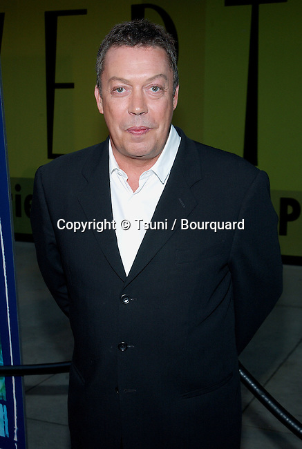 Tim Curry -Family Affair -  arriving at the 2002 Warner Bros Summer Press Tour party at the Renaissance Hotel at the Hollywood and Highland in Los Angeles. July 13, 2002.