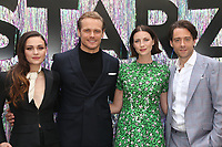 CENTURY CITY, CA - June 2: Sophie Skelton, Sam Heughan, Caitriona Balfe, Richard Rankin, at Starz FYC 2019 — Where Creativity, Culture and Conversations Collide at The Atrium At Westfield Century City in Century City, California on June 2, 2019. <br /> CAP/MPIFS<br /> ©MPIFS/Capital Pictures