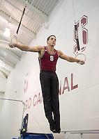 Stanford, Ca - Thursday, November 1, 2012:  Men's Gymnastics.