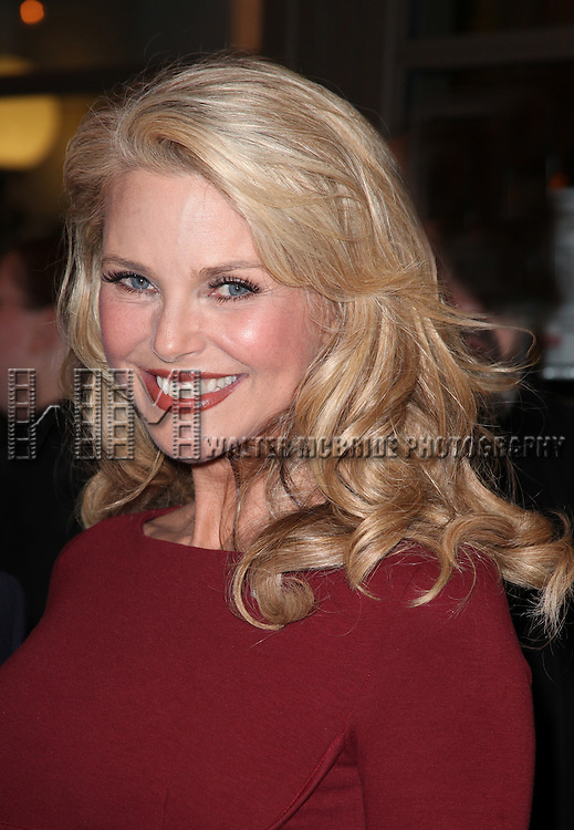 Christie Brinkley.at the Opening Night Performance of the Manhattan Theatre Club's Production of 'Venus In Fur' at the Samuel J. Friedman Theatre in New York City.