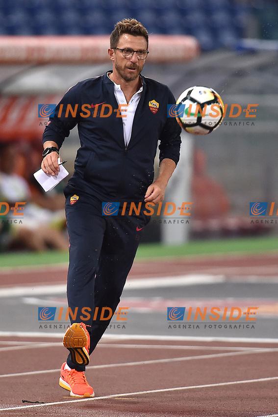 Eusebio Di Francesco <br /> Roma 01-09-2017 Stadio Olimpico Football Friendly match AS Roma - Chapecoense Foto Andrea Staccioli / Insidefoto