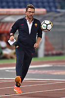 Eusebio Di Francesco <br /> Roma 01-09-2017 Stadio Olimpico Football Friendly match AS Roma - Chapecoense Foto Andrea Staccioli / Insidefoto