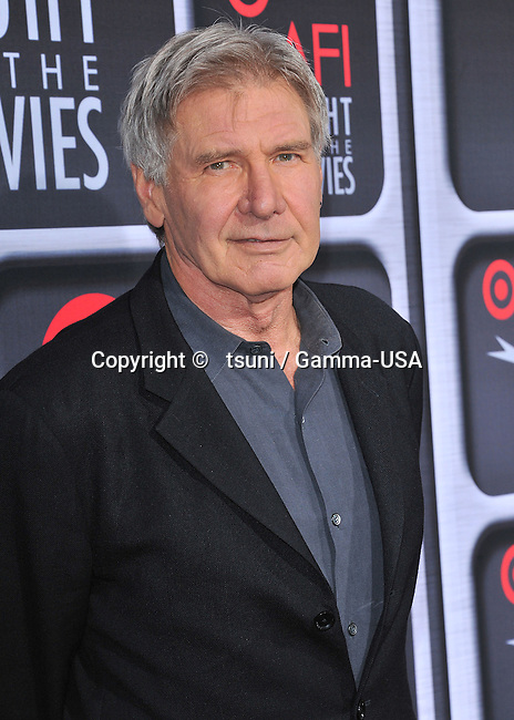 Harrison Ford  arriving the the AFI Night at the Movies at the Arclight Theatre in Los Angeles.