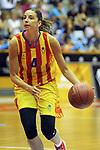 Catalunya vs Montenegro: 83-57.<br /> Mariona Ortiz.