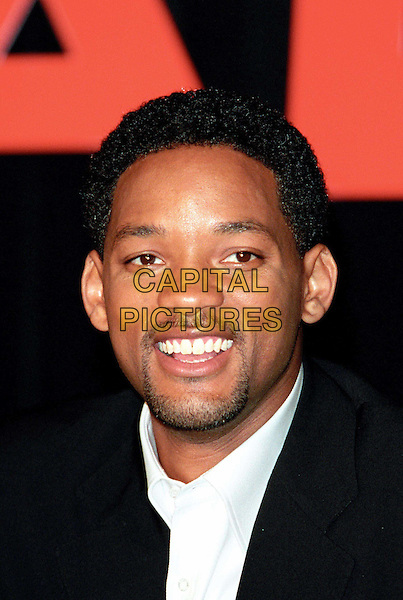 WILL SMITH.Attends Press Conference To Promote His New Movie, Ali.Ref: IJ.goatee, headshot, portrait.www.capitalpictures.com.sales@capitalpictures.com.© Capital Pictures