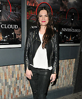 Megan Maczko at the &quot;The Ninth Cloud&quot; film screening and Q&amp;A, Prince Charles cinema, Queen Leicester Place, London, England, UK, on Monday 12 February 2018.<br /> CAP/CAN<br /> &copy;CAN/Capital Pictures