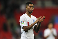 Marcus Rashford of England during the UEFA Euro 2020 Qualifying Group A match between England and Montenegro at Wembley Stadium on November 14th 2019 in London, England. (Photo by Matt Bradshaw/phcimages.com)<br /> Foto PHC Images / Insidefoto <br /> ITALY ONLY