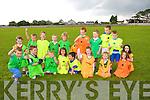 Under 6's football team enjoying the Na Gaeil family fun Day on Sunday